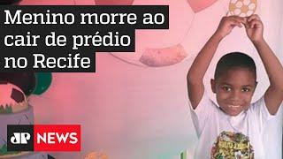 Menino morre ao cair de prédio no Recife; patroa da mãe da vítima é investigada