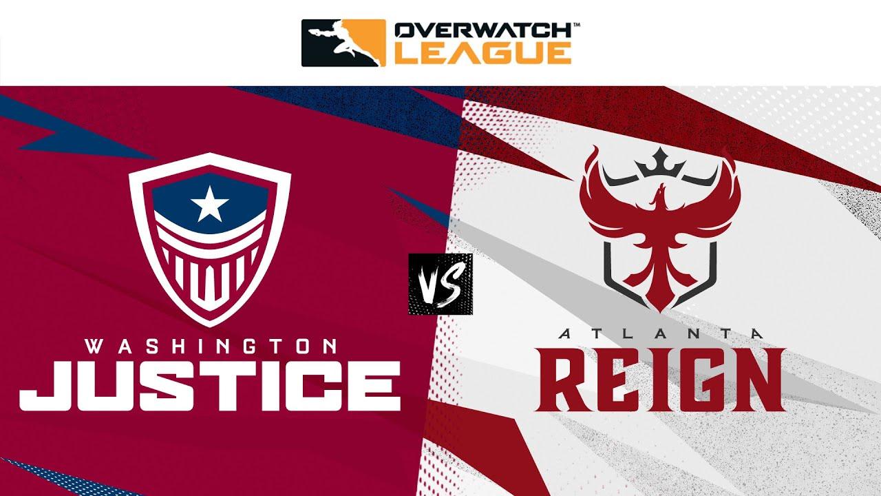 @Washington Justice vs @ATL Reign | Summer Showdown Qualifiers | Week 2 Day 1 — West