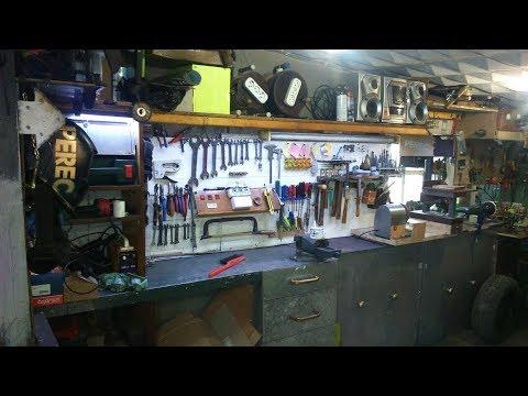 Фартук в гараже или организация ручного инструмента \ organization of hand tools