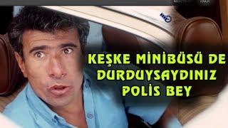 Sarı Mercedes - Bayramı Polis Durduruyor