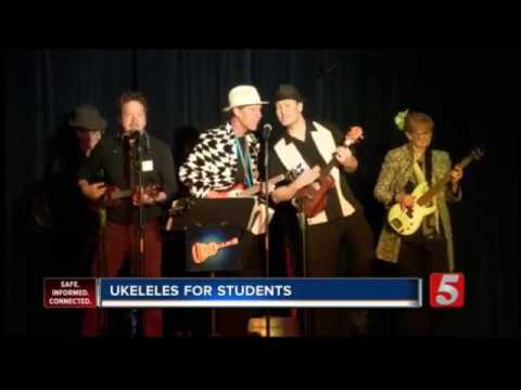 News Channel 5 Coverage: Ukedelics Performing at Jackson-Hull