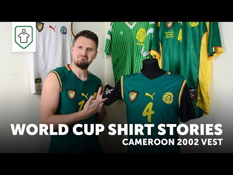 World Cup Shirt Stories: Cameroon 2002 Vest