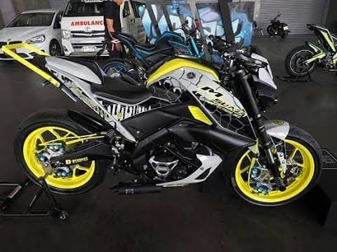 yamaha fz  modified  slaz modified honda hornet modified youtube