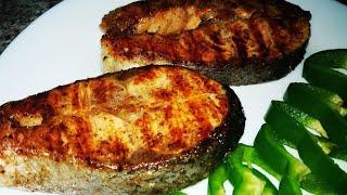 Стейки из Красной Рыбы   Salmon Steaks Recipe
