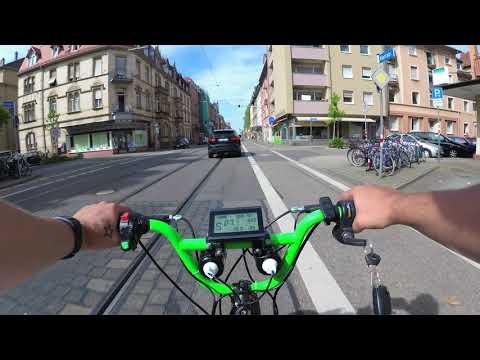 Fat Tire E Bike Test 1500W 48V li-ion