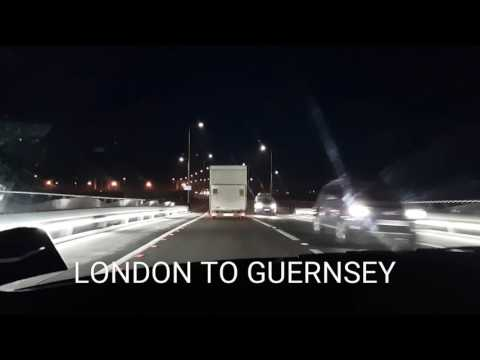 LONDON TO GUERNSEY / MY JOURNEY