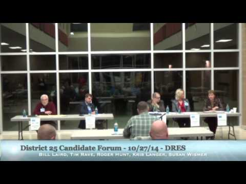 District 25 Candidate Forum - 10/27/14
