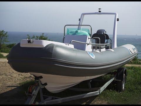 Сбор лодки РИБ 550 Extra Ocean Drive