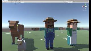 Изучение Unity3D 2019 на реальных примерах - Урок 4 Конструкция If. Ограничение движения.