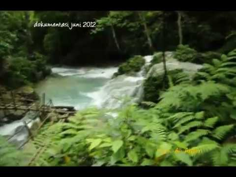 Tongtoan Waterfall in Central Sulawesi - Indonesia