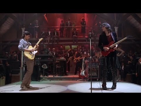 Steve Vai vs Ralph Macchio Epic Guitar Battle