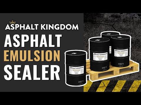ASPHALT EMULSION SEALER: FACTS