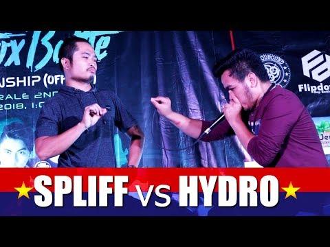 Philippine Beatbox Battle   SPLIFF vs HYDRO   Top 16
