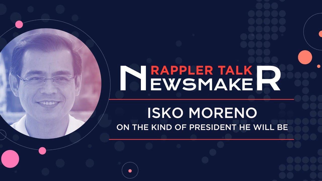 Download Rappler Talk Newsmaker: Isko Moreno and his presidential bid