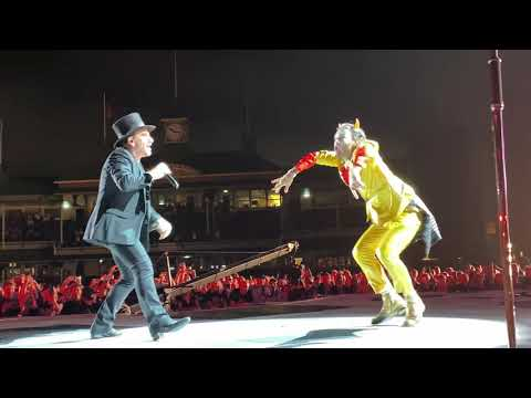 Coe Lewis - Bono From U2 Invites Superfan On Stage And Dances With The Dude!