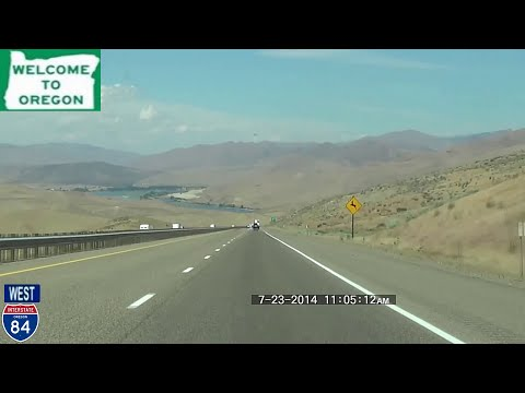 Salt Lake City UT to Portland OR 2014 HD Version