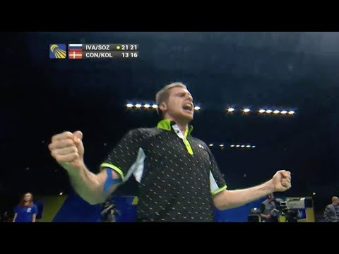 Ivanov and Sozonov become 1st Russian Badminton Champs - Universal Sports