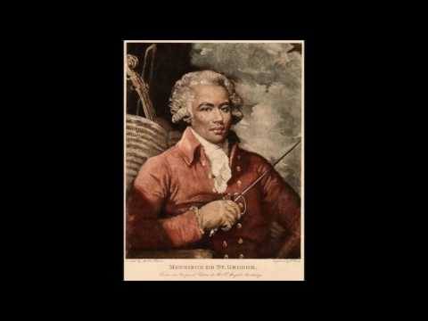 Joseph Bologne Le Chevalier De Saint Georges Symphonies Ji Malt