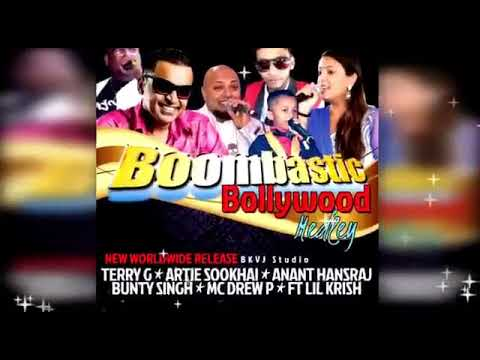 Lil Krish Bunty, Terry G, Drew P, A9 & Artie Sookhai - Boombastic Bollywood Medley (Guyana)