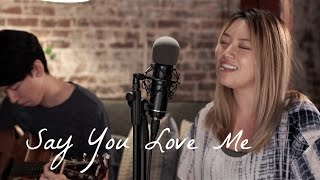 Say You Love Me - Jessie Ware by Jennifer Chung ft. Pae Day