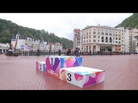 One hundred day countdown to costliest Olympics begins in Sochi