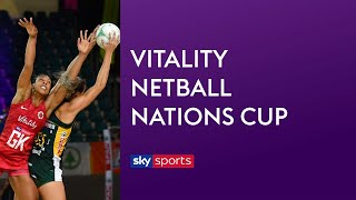 LIVE NETBALL! England vs South Africa