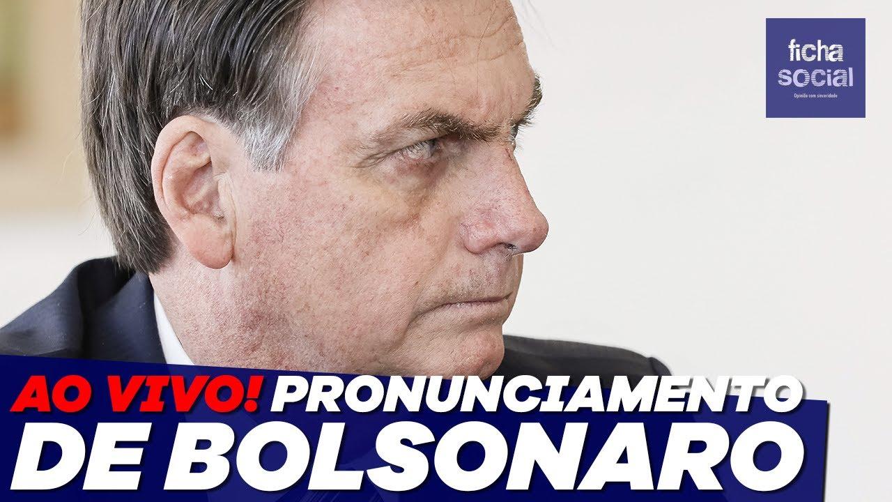 AO VIVO: PRONUNCIAMENTO DO PRESIDENTE JAIR BOLSONARO - LIVE DE 09/09 - MORAES, STF, MANIFESTAÇÕES