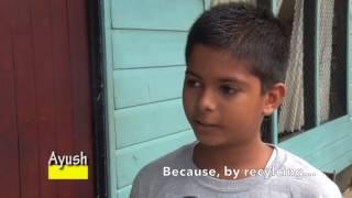 Suriname waste education