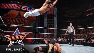 FULL MATCH - Seth Rollins vs. John Cena - WWE Title vs. United States Title Match: SummerSlam 2015