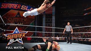 FULL MATCH - Seth Rollins vs. John Cena - WWE Title vs. United States Title Match: SummerSlam 2015