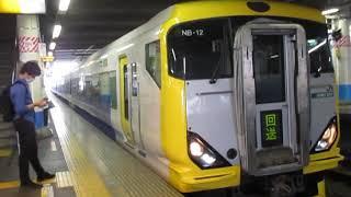 JR東日本E257系500番台(回送)大船駅発車