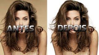 tutorial photoshop cc - como recortar cabelos perfeitamente sem usar nenhum plugin