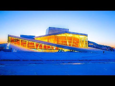 A Walk On, In, and Around The Oslo Opera House