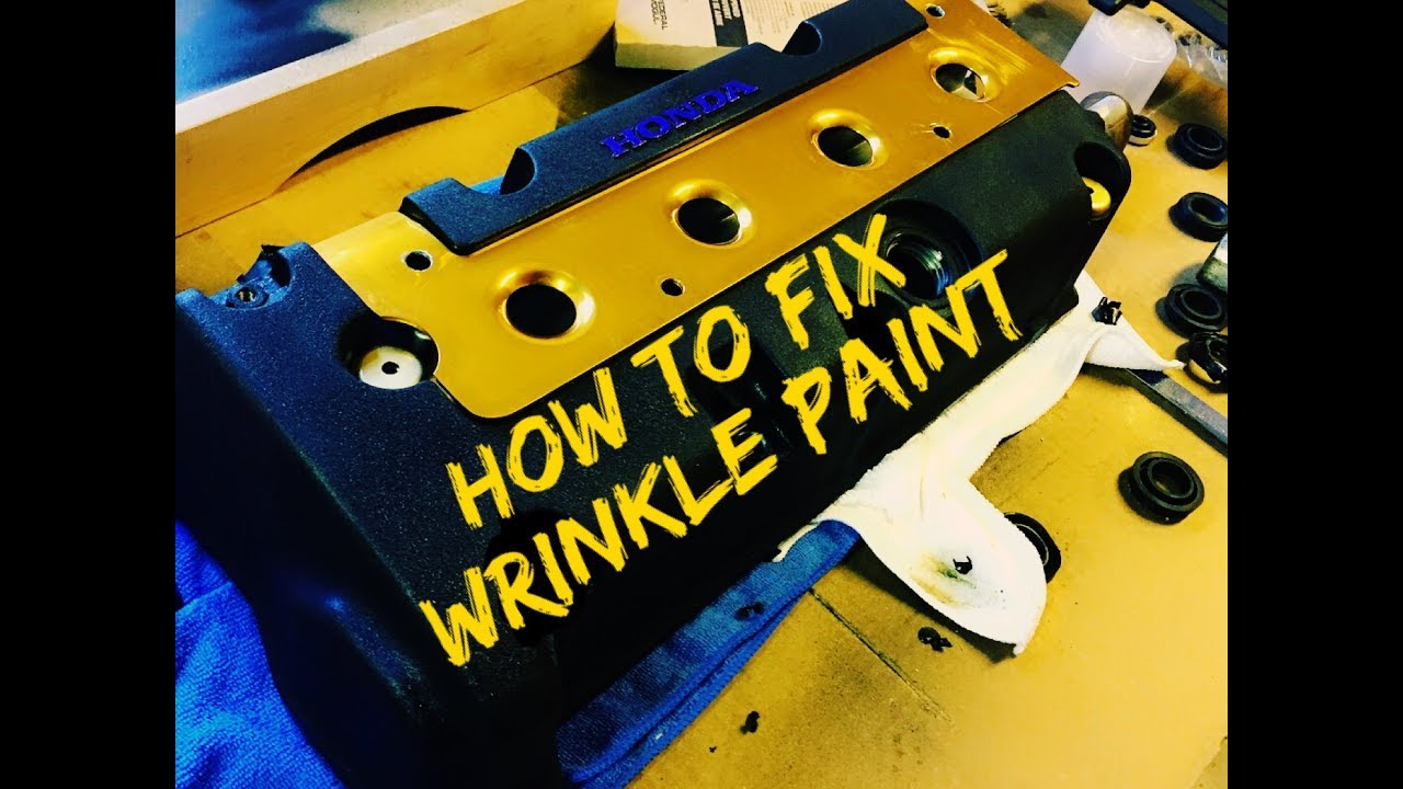 How To Fix Wrinkle Paint  Wrinkle Paint Not Wrinkling
