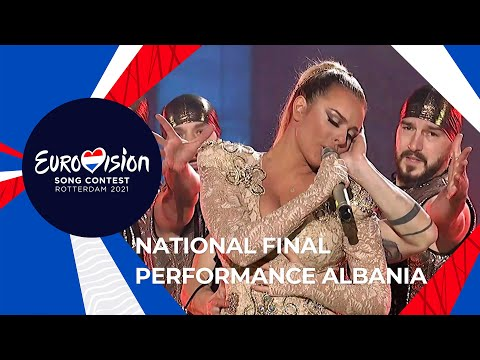 Anxhela Peristeri - Karma - Albania 🇦🇱- National Final Performance - Eurovision 2021