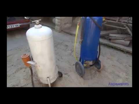 Cмотреть видео онлайн пескоструйный аппарат   своими руками ( homemade sandblaster )