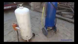 пескоструйный аппарат   своими руками ( homemade sandblaster )