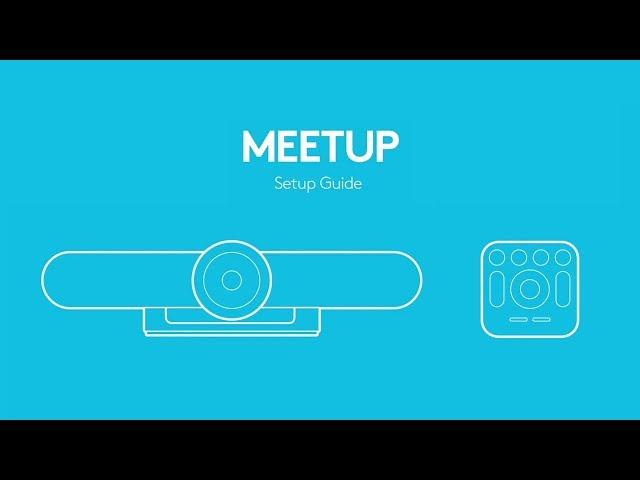 How To Setup the Logitech MeetUp ConferenceCam