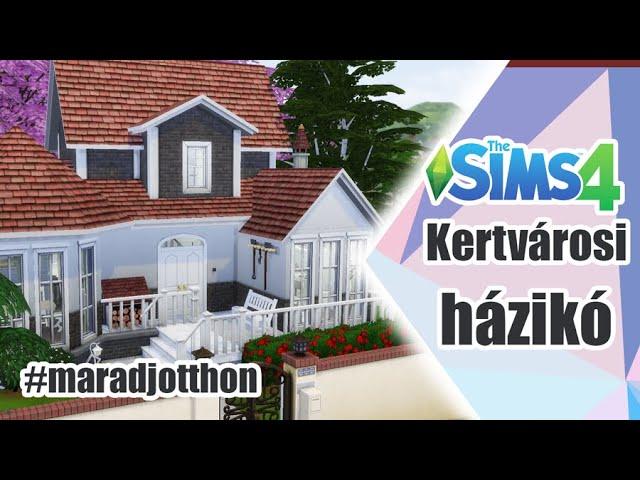 Kertvárosi lakás, Helyzetjelentés - The Sims 4 | Speed Build