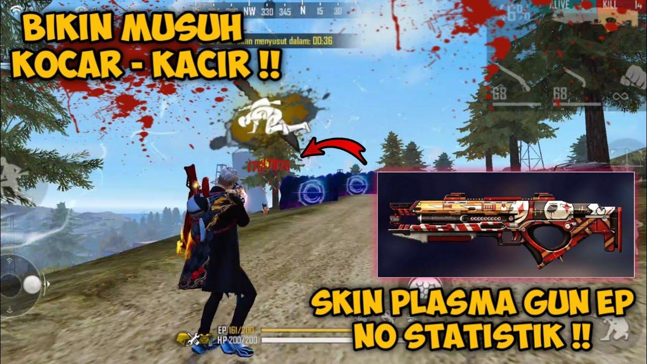 RUSUH PAKE PLAMAGUN NO STATISTIK DARI EP !! MUSUH SAMPE KOCAR - KACIR | GARENA FREE FIRE