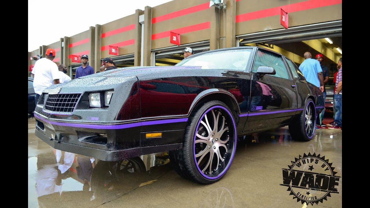 """Ss Monte Carlo >> Black & Purple Monte Carlo SS on 24"""" Asanti Wheels www.WhipsByWade.com - YouTube"""