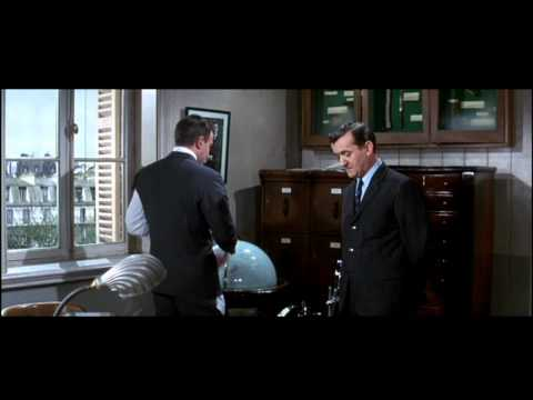 Inspector Clouseau and the spinning globes