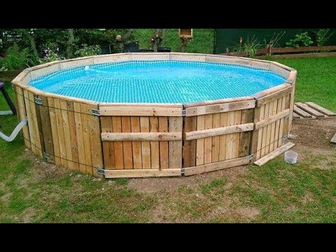 Diy Build A Pool Made From Pallets Important Tips And Practical Ideas Youtube