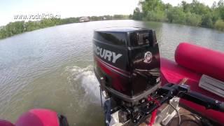 видео Двигатель меркурий 40. Подвесные лодочные моторы