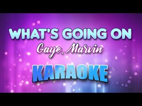 Gaye, Marvin - What's Going On (Karaoke & Lyrics)