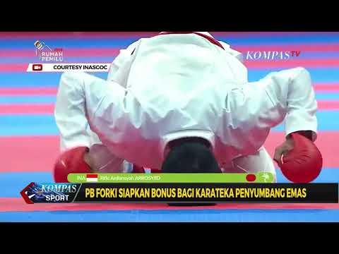 PB FORKI Siapkan Bonus Bagi Karateka Penyumbang Emas Mp3