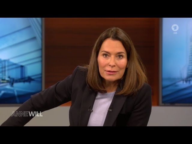 ANNE WILL vom  29. November 2020 - ARD Talk Show