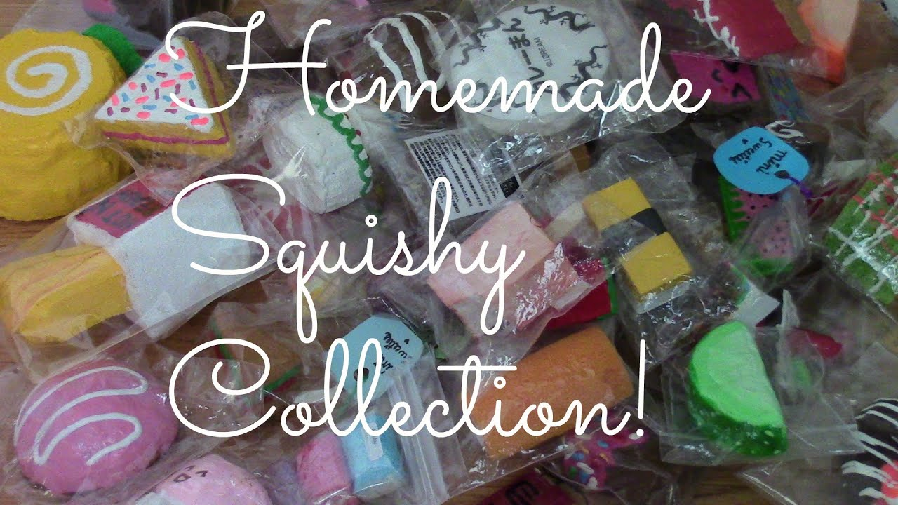 Homemade Squishy Collection 2014 : Homemade Squishy Collection! - YouTube