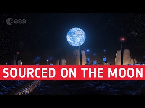 Locally-sourced on the Moon