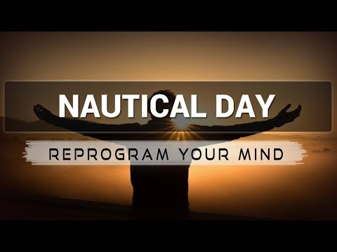 Nautical Day affirmations mp3 music audio - Law of attractio